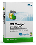 EMS SQL Manager for PostgreSQL - (Business) + 1 Year Maintenance